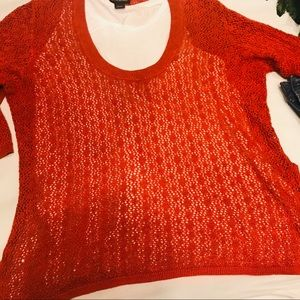 🌷Lane Bryant Scoop Neck Knitted Top 🌷